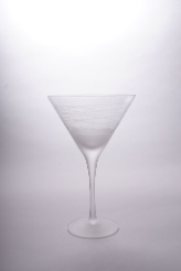 Afterglow Martini Glass 7 7/8 in. 14 oz. - Set of 4