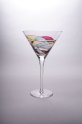Milano Noir Martini Glass 7 7/8 in. 12 oz