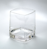 "Quadrat Water Goblet 4"" 14oz. - Set of 4"