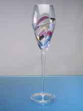 Milano Flute / Champagne Glass 10 in. 8 oz. - Set of 4