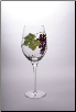 Dionysus Merlot 9 1/2 in. 17 oz. - Set of 2