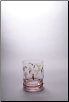Georgio Whiskey / DOF Glass 4 in. 12 oz. - Set of 4