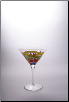 Orleans Martini Glass 7 in. 9 oz. - Set of 2