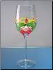 Orleans White Wine Glass 8.5 in. 13 oz. - Set of 4